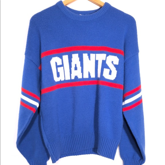 buy online 436fa c3832 Vintage 80s Cliff Engle New York Giants Sweater